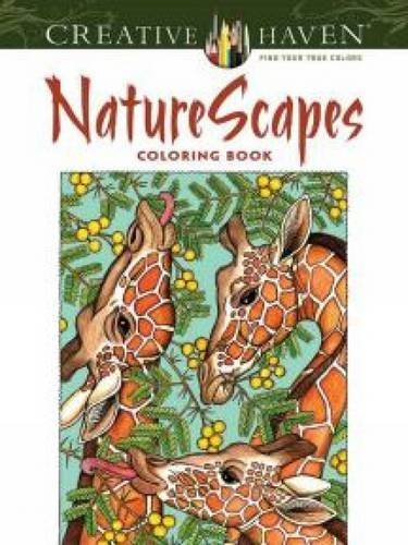 Creative Haven NatureScapes Coloring Book (Creative Haven Coloring Books) por Patricia J. Wynne