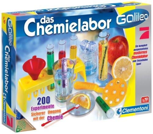 Clementoni 69229.3 - Galileo - Das Chemielabor