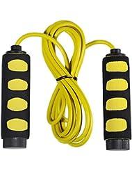 HITOP 2,8 m corde à sauter poignées en mousse confortable Léger et durable réglable pour les enfants jeunes adultes corde d'entraînement Fitness Training Beauté Santé cadeau pour toute la famille