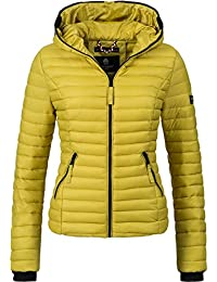 2992a7777e83 Navahoo Damen Übergangs Jacke Steppjacke Kimuk (Vegan Hergestellt) 23  Farben XS-XXL