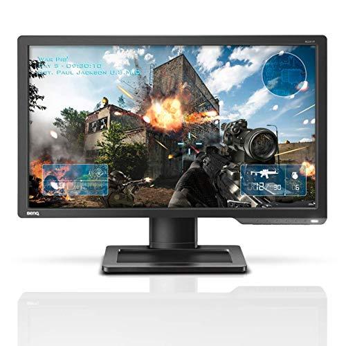 BenQ ZOWIE XL2411 60,96 cm (24 Zoll) e-Sports Gaming Monitor (Black eQualizer, 1ms Reaktionszeit, 144Hz) grau