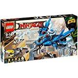 LEGO - 70614 - LEGO Ninjago - Jeu de Construction - Le Jet Supersonique de Foudre