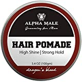 Alpha Male Grooming For Men Hair Pomade Hair Gel Styler