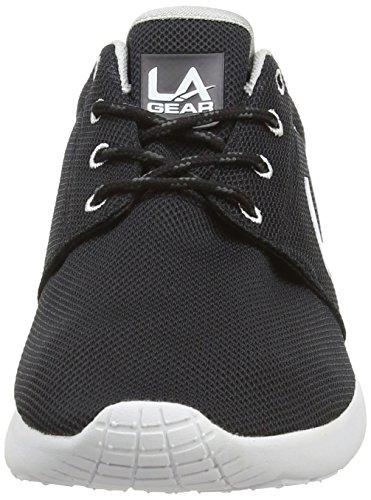 L.A. Gear  Sunrise, Sneakers basses femmes Noir (Black/White)