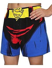 DC Comics Superman Hommes Functional Button Fly caleçon boxeur