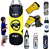 RDX MMA Kinder Boxen Sack 2FT Junior Boxsack Set Kickboxen