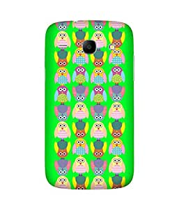 Stripes And Elephant Print-3 Samsung Galaxy Core I8260 Case