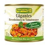 Rapunzel Gigantes Riesenbohnen in Tomatensauce, 4er Pack (4 x 230 g) - Bio