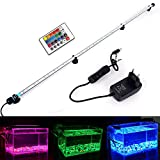 MLJ LED Aquarium Lighting Luce di Pesce Drago Illuminazione per Acquario Impermeabile (Deutschland Lagerhaus) (112cm, RGB)