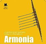 Juego de cuerdas Gato Negro Armonia para guitarra clásica y flamenca
