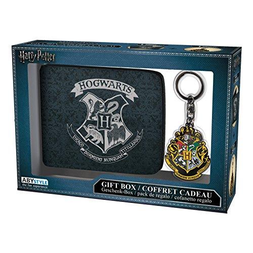 ABYstyle abypck109-Harry Potter Geldbörse mit Schlüsselanhänger Hogwarts (Geldbörse Harry Potter)