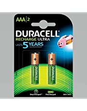 Duracell Recharge Ultra AAA - 900 mAh Batteries -Pack of 2