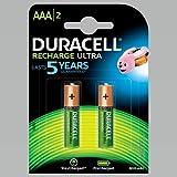 Duracell 44108 AAA (Micro)/HR03 - 850 mAh - Batterie nichel-metallo idruro (NiMH)  1 2 V