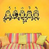 Decals Design 'Funny Owls Emoticons' Wal...