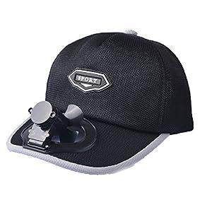 CAP Ventilator, Der Hut Abkühlt USB, Der Im Freienreisesonnenschutz-Sonnenschutzmittel Breathable Baseballgolfhut…