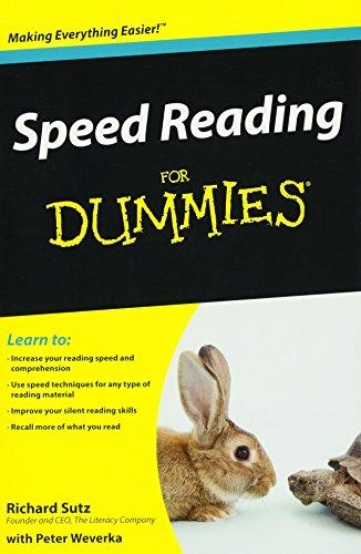 Speed Reading For Dummies por Richard Sutz