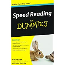 Speed Reading for Dummies (For Dummies Series)