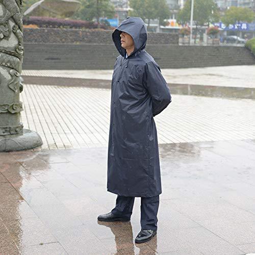 HUIJU Regenmantel Erwachsene Wandern Männer Und Frauen Korean Fashion wasserdichte Anzug Poncho Erhöhen Dicken Körper Im Freien Siamesische Im Freien,Green,XL (Green Körper Anzug)