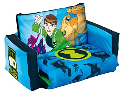 Ben 10 Alien Force Flip Out Sofa - cheap UK light shop.