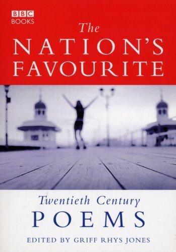 The Nation's Favourite: Twentieth Century Poems by Griff Rhys Jones (1999-09-30)