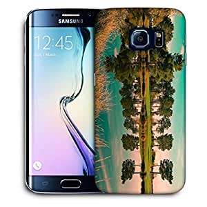 Snoogg River Side Tree Printed Protective Phone Back Case Cover For Samsung Galaxy S6 EDGE / S IIIIII