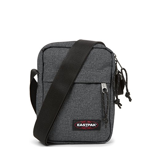 Eastpak - The One - Sac Bandoulière - Mixte Adulte -Gris (Black Denim) - 21 x 16 x 5.5