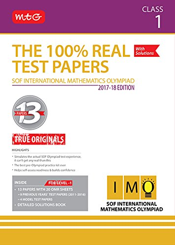 The 100% Real Test Papers (IMO) Class 1
