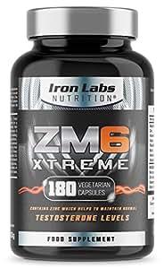 ZM6® Xtreme - 2.100mg | 180 Vegetarische Kapseln | 2-3 Monatsvorrat| Zink-Magnesium-Nahrungsergänzungsmittel (offiziell zugelassenes ZM6®) | Enthält Zink für die Regulierung des Testosteronspiegels