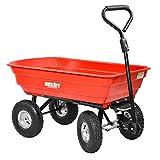 HECHT 52145 Bollerwagen Transportkarre Garten-Wagen kippbar belastar bis 250kg
