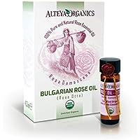 Alteya Bio Ätherisches Öl Bulgarische Rose (Damaszener Rosenöl) 4.3ml – 100% USDA Organic-zertifiziert Rein Natürlich... preisvergleich bei billige-tabletten.eu