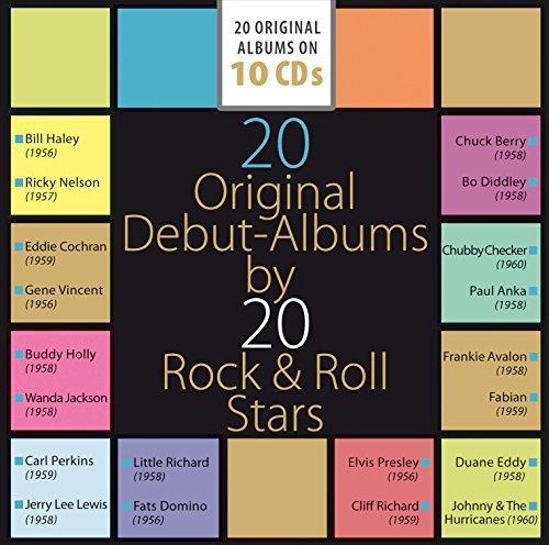 20 Original Albums Rock+Roll Stars