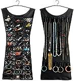 Sellus Jewellery Organizer Dress Shape Double Sided (Black)