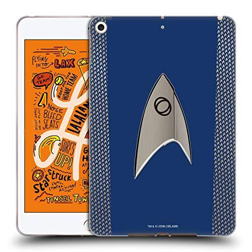 Head Case Designs Offizielle Star Trek Discovery Wissenschaft Uniformen Soft Gel Huelle kompatibel mit iPad Mini (2019) (Uniform Star 2019 Trek)
