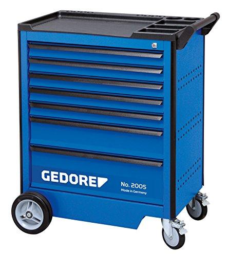 GEDORE Werkzeugwagen mit Einzelauszugssperre, 1 Stück, 2005 0511 E