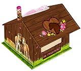 Caballo amigos Nota caja, 9x 9x 8cm, modelo # 11668