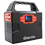 Portable Generator, Giaride 150Wh Solar Power Inverter 40800mAh Battery Pack Camping CPAP Emergency