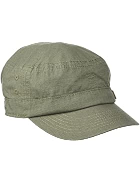 Quiksilver Renegade 2 Gorra Militar, Hombre, Dusty Olive,