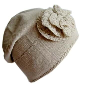 Frost Hats M-91 BEIGE Winter Hat for Women and Girls Slouchy Beanie Warm Hat Ski Beanie Frost Hats