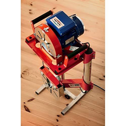 Handbandsäge für zimmereiarbeiten rpp 290, einphasenmotor, 750 W, Tragbare Bandsäge für Holz, Schreiner