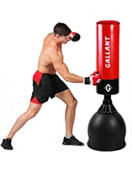 Gallant Cible sur pied de boxe Sac de frappe 1,5m Heavy Duty MMA UFC Thai Kick Tranining Sac avec Pro Gants de boxe