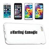 cubierta del teléfono inteligente iPhone 7+ Plus Hashtag ... #Hurling Camogie ... en Red Social Diseño caso duro de la cubierta protectora del teléfono Cubre Smart Cover para Apple iPhone … en blanco ... delgado y hermoso, ese es nuestro hardcase. El caso se fija con un clic en su teléfono inteligente
