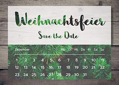 ten, Einladung Weihnachtsfeier ()