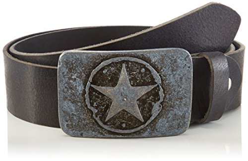 mgm-fashion-star-cinturon-unisex-negro-schwarz-nero-10-85-cm