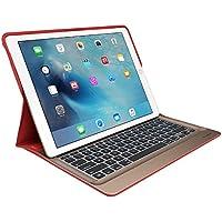 Logitech iPad Pro 12,9 Zoll Tastatur-Case (Create mit beleuchteter kabelloser Tastatur und Smart Connector 1. Generation, QWERTZ Deutsches Tastatur-Layout)