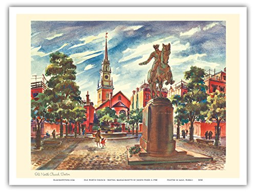 old-north-church-boston-massachusetts-united-airlines-page-de-calendrier-affiche-ancienne-vintage-to