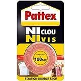 Pattex - Cinta adhesiva (100 kg, 19 mm x 1,5 m)