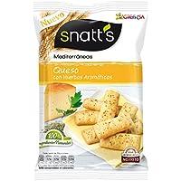 Snatt's Mediterráneas Pan con Sabor a Queso y Plantas Aromáticas - 110 g