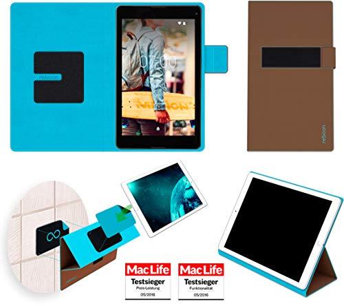 Hülle für Medion Lifetab P8524 Tasche Cover Case Bumper | in Braun | Testsieger
