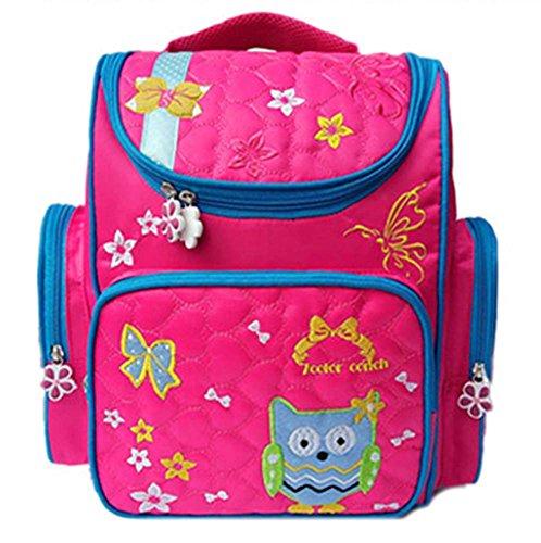 Rucksack, Cartoon Tasche für Jungen Mädchen Casual Daypack Reisegepäckstütze Wirbelsäule Taschen Tasche Schule (Bogen-abend-tasche)