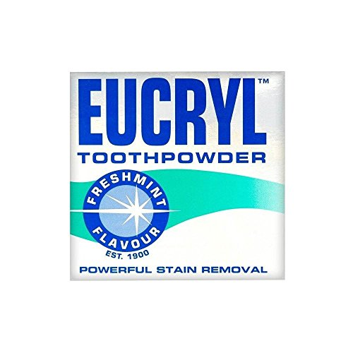 Eucryl Smokers Tooth Powder Freshmint Flavour (50g) - by Eucryl (Baby Powder-seife)